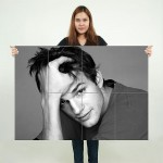 Ashton Kutcher Block Giant Wall Art Poster