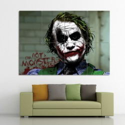 Batman Joker Im Not A Monster  Wand-Kunstdruck Riesenposter (P-0467)