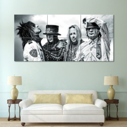 Motley Crue Hard Rock Block Giant Wall Art Poster (P-0468)