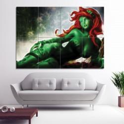 โปสเตอร์ ขนาดใหญ่ ภาพ Fractal Light Art Poison Ivy (P-0490)