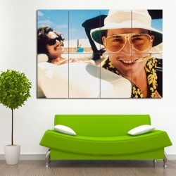 Fear and Loathing in Las Vegas Huge Block Giant Wall Art Poster (P-0493)