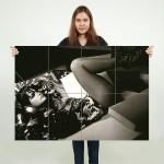โปสเตอร์ ขนาดใหญ่ ภาพ Natalie Portman นาตาลี พอร์ตแมน