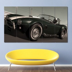 High Speed Ring  Shelby Cobra Block Giant Wall Art Poster (P-0509)