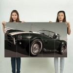 High Speed Ring  Shelby Cobra Block Giant Wall Art Poster