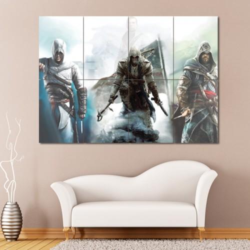 โปสเตอร์ ขนาดใหญ่ เกมส์ Assassin's Creed 3 อัสแซสซินส์ ครีด