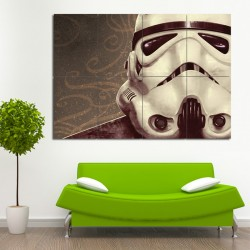 Star Wars Imperial Stormtrooper Block Giant Wall Art Poster (P-0526)
