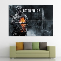 Battlefield 3 Block Giant Wall Art Poster (P-0532)