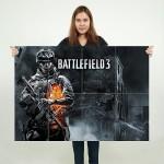 Battlefield 3 Block Giant Wall Art Poster