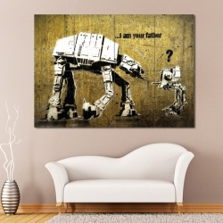 Banksy Star Wars Block Giant Wall Art Poster (P-0533)