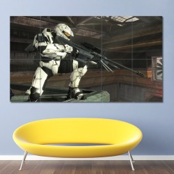 Halo Sniper Block Giant Wall Art Poster (P-0543)