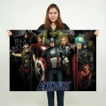 โปสเตอร์ ขนาดใหญ่ ภาพยนตร์ The Avengers ดิ อเวนเจอร์ส