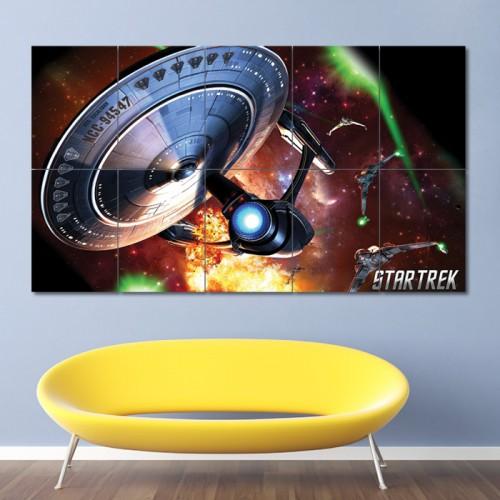 โปสเตอร์ ขนาดใหญ่ เกมส์ Star Trek online สตาร์ เทรค