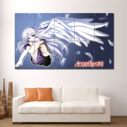 Angel Beats 3 Block Giant Wall Art Poster (P-0551)