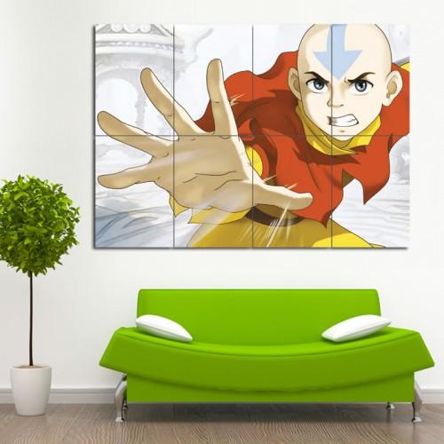 โปสเตอร์ ขนาดใหญ่ การ์ตูนอนิเมะ Avatar The Last Airbender