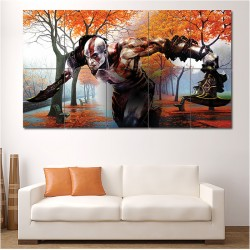 God Of War Kratos Block Giant Wall Art Poster (P-0561)