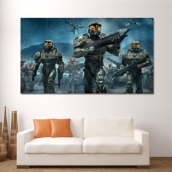 Halo Wars Game Block Giant Wall Art Poster (P-0562)