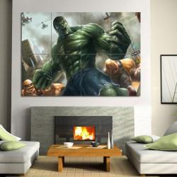 The Incredible Hulk Block Giant Wall Art Poster (P-0563)