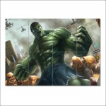 โปสเตอร์ ขนาดใหญ่ การ์ตูน  Incredible Hulk ฮัลค์