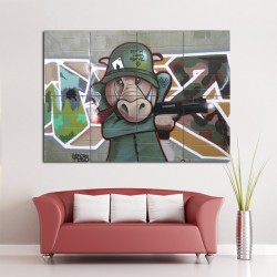 LA Street Graffiti Block Giant Wall Art Poster (P-0586)