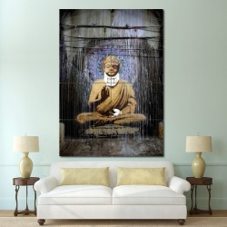 Banksy Buddha Block Giant Wall Art Poster (P-0588)