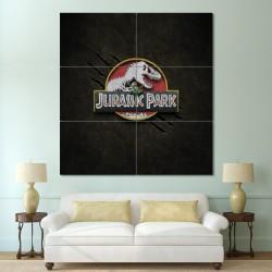 โปสเตอร์ ขนาดใหญ่ ไดโนเสาร์  Jurassic Park จูราสสิค พาร์ค (P-0589)
