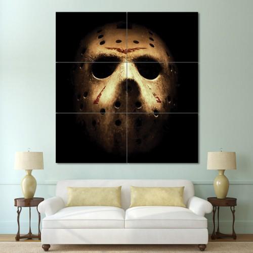 โปสเตอร์ ขนาดใหญ่ หนัง Friday The 13th Jason Huge
