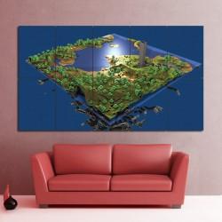 โปสเตอร์ ขนาดใหญ่ เกมส์ Minecraft PC Game เกมส์มายคราฟ (P-0595)