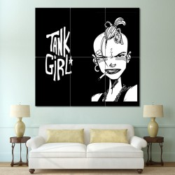 Tank Girl Block Giant Wall Art Poster (P-0597)