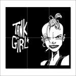 โปสเตอร์ ขนาดใหญ่ ภาพการ์ตูน Tank Girl