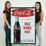 โปสเตอร์ ขนาดใหญ่ ภาพโฆษณา Big King Size Coca Cola