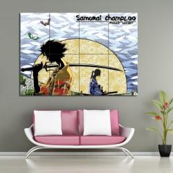 Samurai Champloo Manga Anime Block Giant Poster (P-0613)