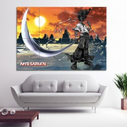Afro Samurai Block Giant Wall Art Poster (P-0614)