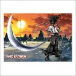โปสเตอร์ ขนาดใหญ่ เกมส์ Afro Samurai ซามูไร แอฟโฟร่