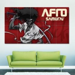 โปสเตอร์ ขนาดใหญ่ ภาพ Afro Samurai Manga Anime (P-0615)