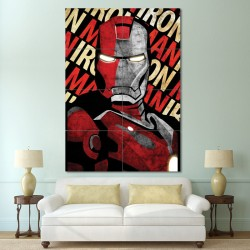 Shepard Fairey Iron Man Block Giant Wall Art Poster (P-0617)
