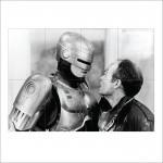 โปสเตอร์ ขนาดใหญ่ Robocop Cyborg โรโบคอป ตำรวจเหล็ก