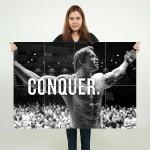 Arnold Schwarzenegger Block Giant Wall Art Poster