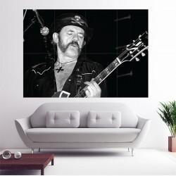 โปสเตอร์ ขนาดใหญ่ Lemmy Kilmister Motorhead เล็มมี คิลมิสเตอร์ มอเตอร์เฮด (P-0622)