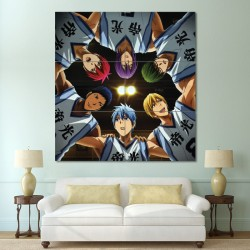 Kuroko's Basketball  Block Giant Wall Art Poster (P-0636)