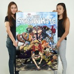 One Piece Manga Anime Version 4 Block Giant Wall Art Poster