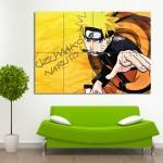 โปสเตอร์ ขนาดใหญ่ ภาพการ์ตูน Naruto Uzumaki นารูโตะ