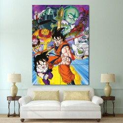 Dragon Ball Z Anime Block Giant Wall Art Poster (P-0685)