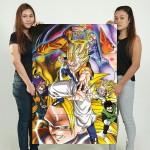 โปสเตอร์ ขนาดใหญ่ ภาพการ์ตูน ดราก้อนบอล Dragon ball Z
