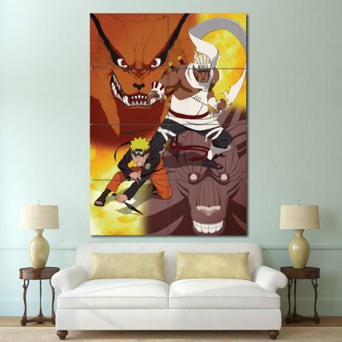 โปสเตอร์ ขนาดใหญ่ ภาพการ์ตูน Naruto Manga Anime นารูโตะ