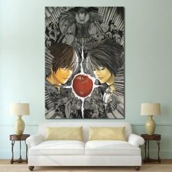 โปสเตอร์ ขนาดใหญ่ ภาพการ์ตูน Death Note เดธโน้ต (P-0693)