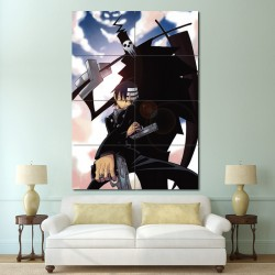 Soul Eater Anime Block Giant Wall Art Poster (P-0696)