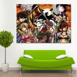 โปสเตอร์ ขนาดใหญ่ ภาพการ์ตูน แฟรี่เทล Fairy Tail Manga (P-0717)