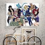 Fairy Tail Manga Anime Kunstdruck Riesenposter