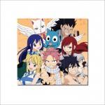 โปสเตอร์ ขนาดใหญ่ ภาพการ์ตูนอนิเมะ Fairy Tail Manga แฟรี่เทล ศึกจอมเวทอภินิหาร