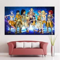 โปสเตอร์ ขนาดใหญ่ ภาพการ์ตูน แฟรี่เทล Fairy Tail Manga  (P-0722)